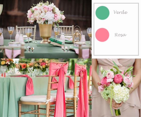 Matrimonio Azzurro E Rosa : Abbinare i colori sposidea